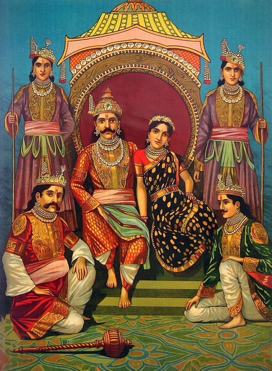 தர்மர் அரசவையில்