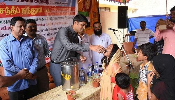 ஆட்சியர் சந்தீப் நந்தூரி