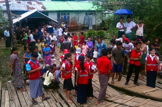 Rohingya Muslims killed in Myanmar