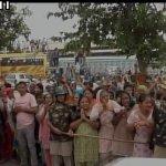 ஹரியானாவில் பதற்றம்..! 100 வாகன அணி வகுப்பில் நீதிமன்றத்துக்குச் சென்ற ராம் ரஹிம் சிங்