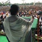 லாலு பிரசாத் கூட்டத்தில் நிதிஷ்குமாரை சாடிய மம்தா பானர்ஜி..!