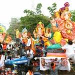 ராமநாதபுரம் மாவட்டத்தில் 232 விநாயகர் சிலைகள் கரைக்கப்பட்டன!