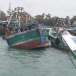 சுஷ்மா ஸ்வராஜ் இலங்கையில் இருக்கும் நிலையில் தமிழக மீனவர்கள் 8 பேர் சிறைப்பிடிப்பு!