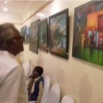 சென்னையில் 15 நாள்கள் காவிரிகுறித்த தன்னோவியக் கண்காட்சி!