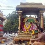 ராமநாதசுவாமி-அம்பாள் கந்தமாதன பருவதம் மண்டகப்படிக்கு எழுந்தருளல்