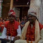 மழை வேண்டி மத்தியப்பிரதேசத்தில் திருமணம் செய்துகொண்ட ஆண்கள்