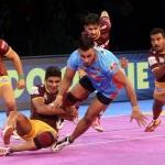 யூ பி யோதாவுக்கு படுதோல்வியைப் பரிசாகத் தந்த பெங்கால் வாரியர்ஸ் #ProKabaddi