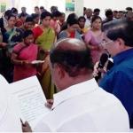கரூர் மாவட்ட ஆட்சியர் தலைமையில் நல்லிணக்க உறுதிமொழி ஏற்பு!