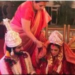 காதலனைக் கரம் பிடித்தார் 'தாஜ்மஹால்' பட நாயகி!