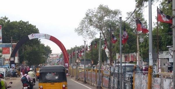 டி.டி.வி.தினகரன் வரவேற்பு ஆர்ச்