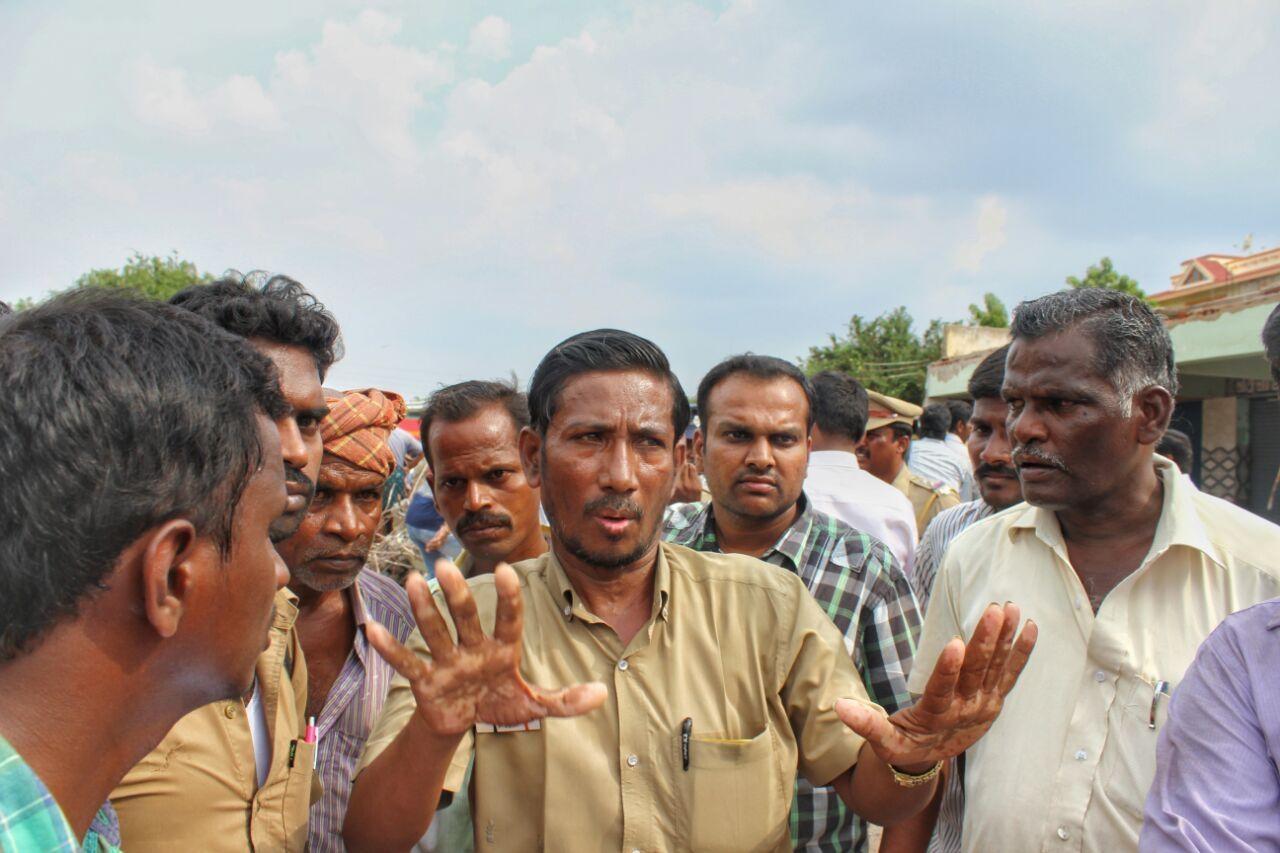 கோவை சோமனூர் பேருந்து நிலையம்