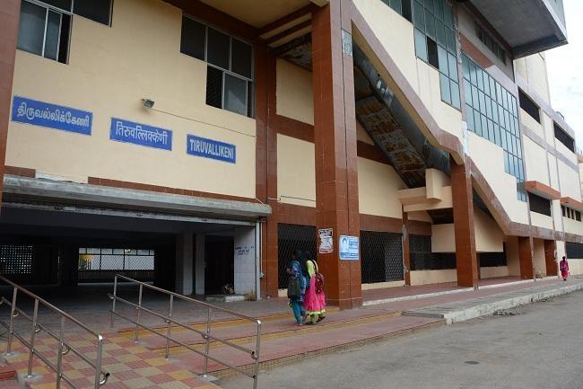 சென்னை திருவல்லிக்கேணி ரயில் நிலையம்