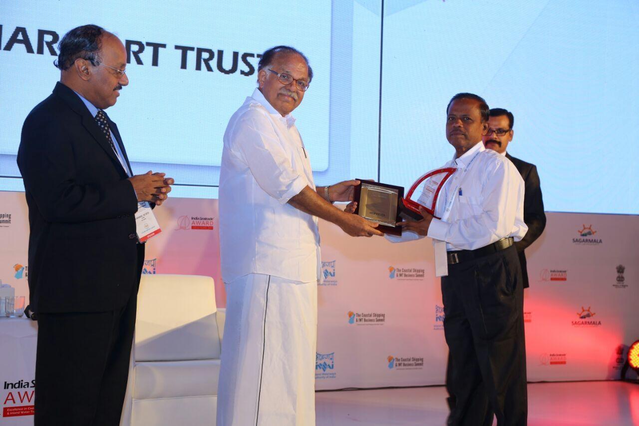 award for thoothukudi port