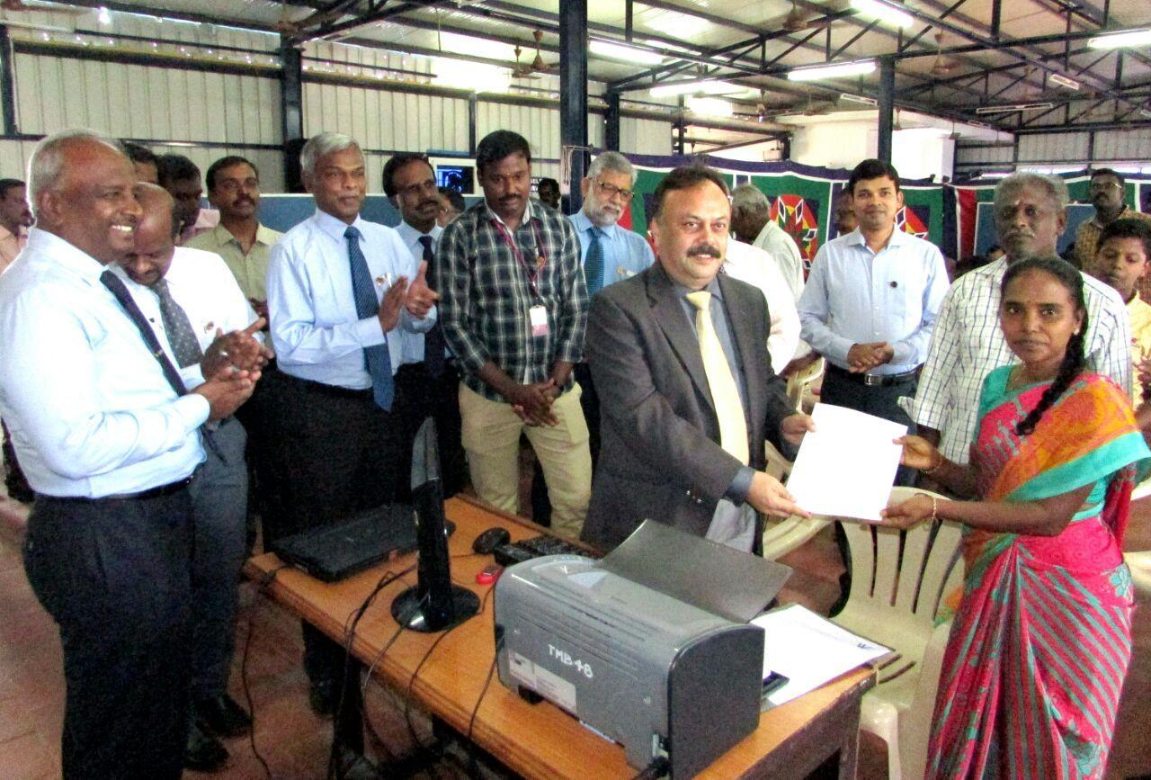 Adhar seva started by TMB CEO ramamoorthy