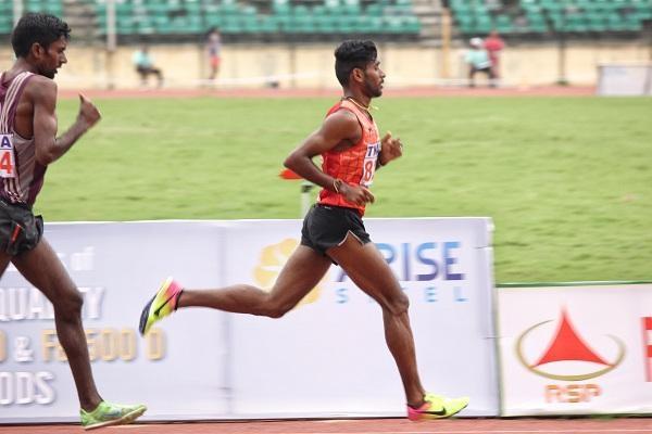 Athlete G.Laxmanan
