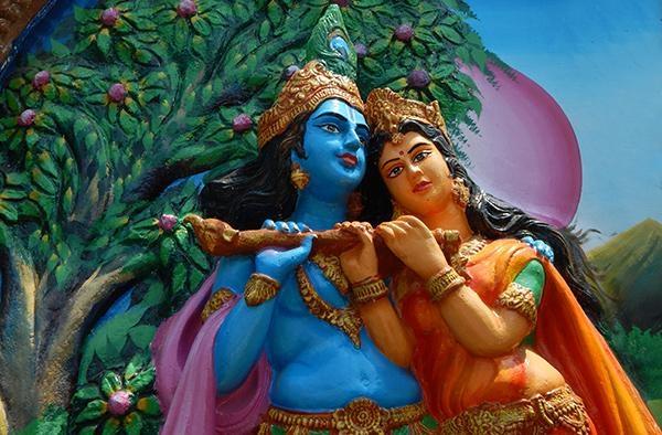 கிருஷ்ணர் ராதை