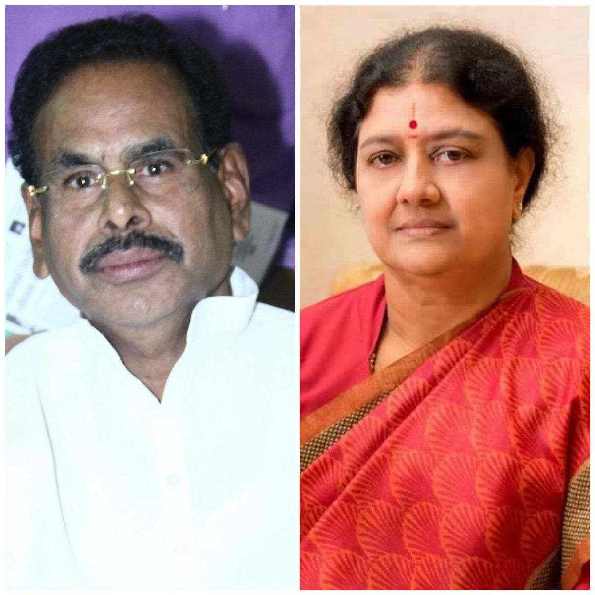நடராஜன் மற்றும் சசிகலா