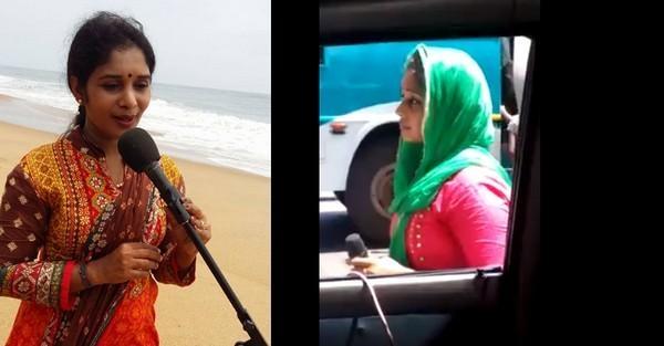 தெருப்பாடகி பிரியா சுமேஷ்
