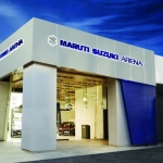 Arena - மாருதி சுஸூகியின் புதிய ஷோரூம் ஐடியா! #MarutiSuzukiArena