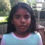 அனிதாவுக்காக குரல் கொடுக்கும் 9 வயது அமெரிக்க வாழ் தமிழ் சிறுமி!