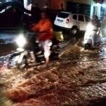 கன்னியாகுமரி மாவட்டத்தில் இடைவிடாமல் பெய்த மழை!