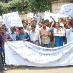 கௌரி லங்கேஷ் கொல்லப்பட்ட விவகாரம்..! சென்னையில் பத்திரிகையாளர்கள் ஆர்ப்பாட்டம்