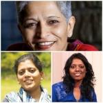 """""""ஹிட்லரும் வீழ்ந்ததுதான் வரலாறு!"""" - பெண் பத்திரிகையாளர்கள் கொதிப்பு! #GauriLankesh"""