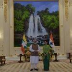 ஆங் சாங் சூகியை கௌரவப்படுத்திய பிரதமர் மோடி!