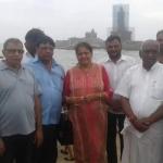 கன்னியாகுமரிக்கு வருகை தந்த அமித்ஷா குடும்பத்தினர்..!