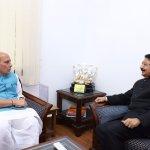 உள்துறை அமைச்சர் ராஜ்நாத்துடன் ஆளுநர் வித்யாசாகர் ராவ் மீண்டும் ஆலோசனை!