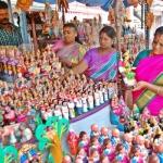 குமரி மாவட்டத்தில் களைகட்டும் கொலு பொம்மை விற்பனை