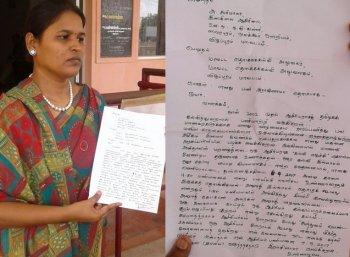 'வேலையைவிட தேசமே முக்கியம்' - அரசுப் பள்ளி ஆசிரியை சபரிமாலா உருக்கம்