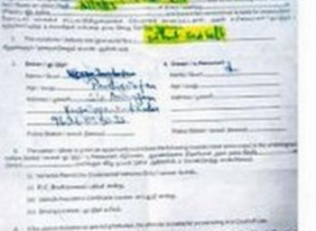 பைக்கில் சென்ற விவசாயி 'சீட் பெல்ட்' அணியாததால் ரூ.500 அபராதம்!