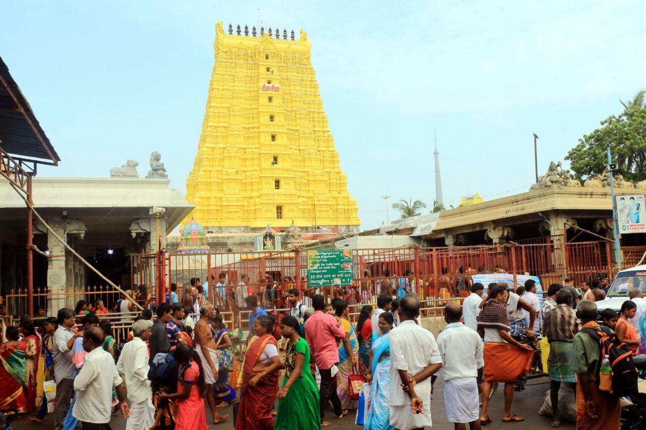 நகைகள் மாயமான ராமேஸ்வரம் கோயில்