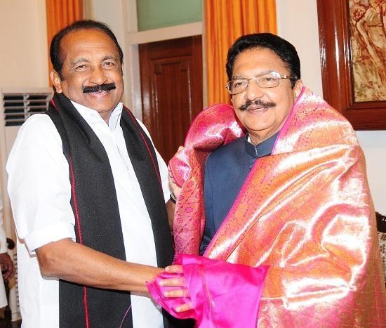 வைகோ, வித்யாசாகர் ராவ்