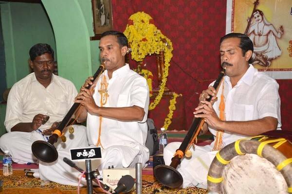ஏழுமலையானின் ஆஸ்தான நாகஸ்வரக் கலைஞர்கள்