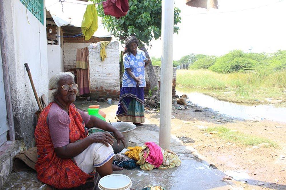 எண்ணூர் - சலீமா பாட்டி