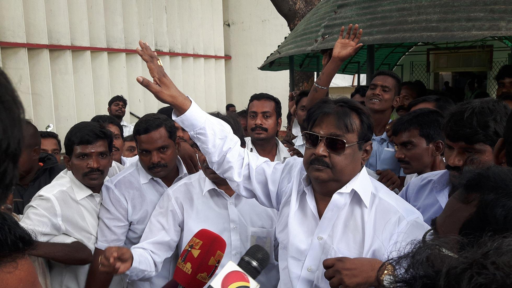 டெங்கு, விஜயகாந்த்