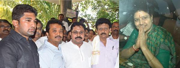 விவேக், டாக்டர் வெங்கடேஷ், தினகரன், திவாகரன், சசிகலா