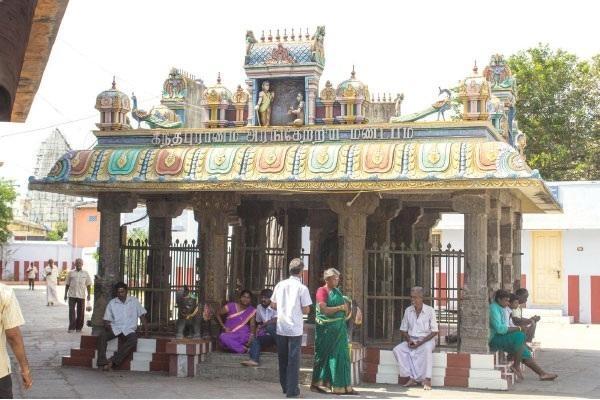 கந்த சஷ்டி - கந்தபுராணம் அரங்கேறிய மண்டபம்