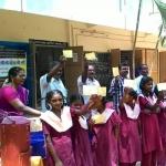 டெங்கு விழிப்பு உணர்வு - உறவினர்களுக்குக் கடிதம் அனுப்பிய அரசுப் பள்ளி மாணவர்கள்