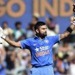 200-வது போட்டியில் விராட் கோலி சதம்... நியூசிலாந்துக்கு இலக்கு 281! #IndvsNZ