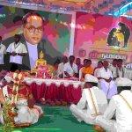 ஓசூரில் 9 ஜோடிகளுக்கு இலவசத் திருமணம்..! அசத்திய அம்பேத்கர் பேரவை