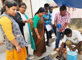 சிவகங்கையில் டெங்கு ஒழிப்புப் பணி தீவிரம்: கள ஆய்வு செய்த ஆட்சியர்
