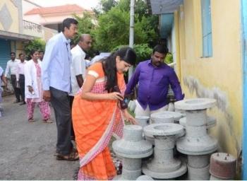 'இப்படிப்பட்டவர்களால்கொசு உற்பத்தி அதிகரிக்கிறது' - ஆய்வில் சீறிய கலெக்டர் ரோகிணி