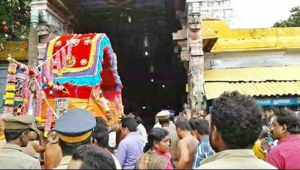 திருவனந்தபுரம் சென்ற சுவாமி விக்ரகங்கள் குமரிக்குத் திரும்பின