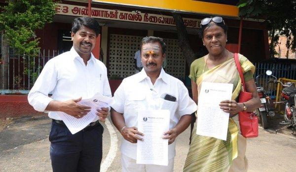 'பத்து பேர் கூட்டு சதி!' - விஜய்க்கு எதிராக காவல்நிலையத்தில் புகார்