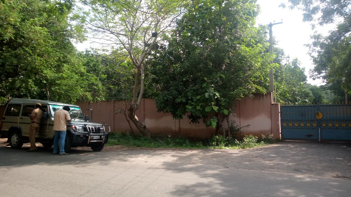 மன்னார்குடி சுந்தரக்கோட்டையில் உள்ள திவாகரன் கல்லூரி