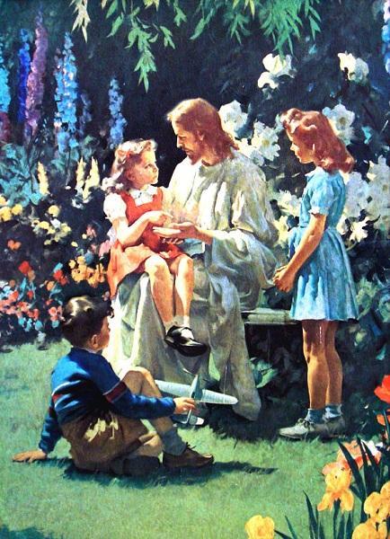 இயேசு கிறிஸ்துவும் குழந்தைகளூம்