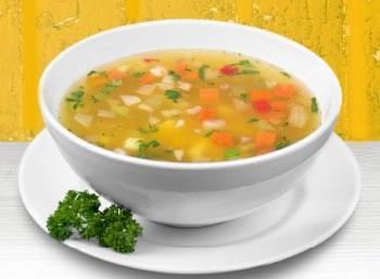 liquid foods in rainy Seasons - Vegetable soup